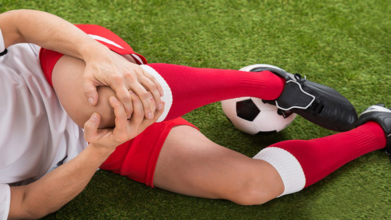 chấn thương dây chằng chéo do đá bóng