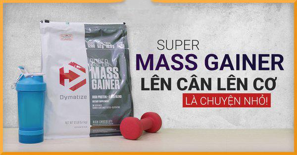 sữa tăng cân super mass  gainer là gì