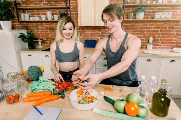 người tập gym có ăn chay được không