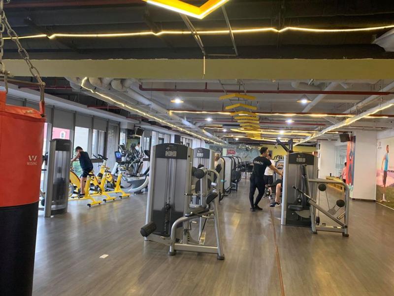 phòng tập Gym Quận Cầu Giấy