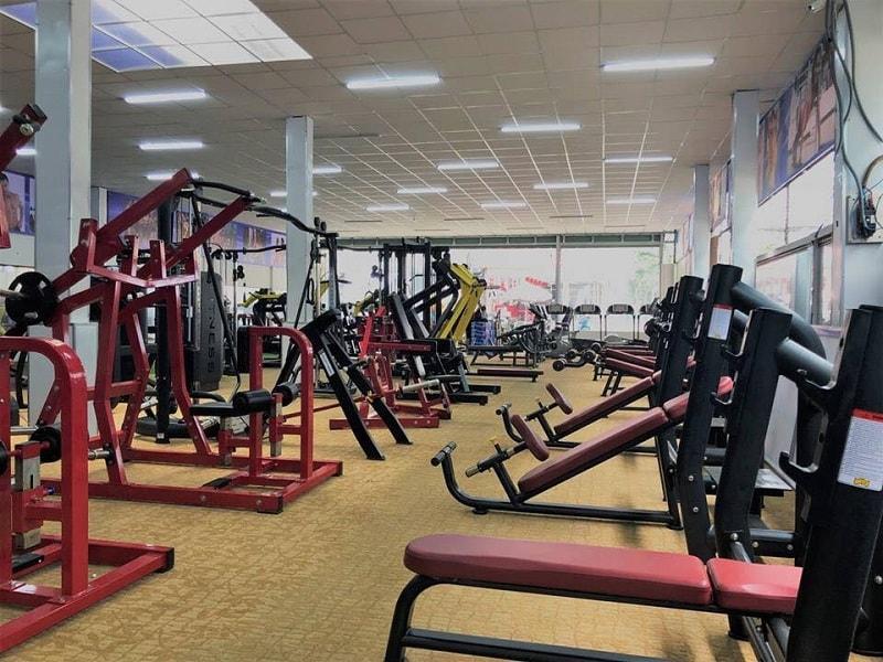 phòng tập Gym Quận Tân Phú